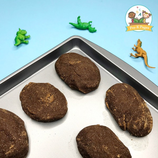 Hatching Dinosaur Egg Play Recipe