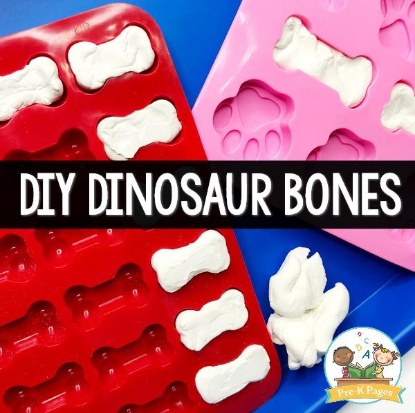 How to Make Dinosaur Bones for Pretend Play