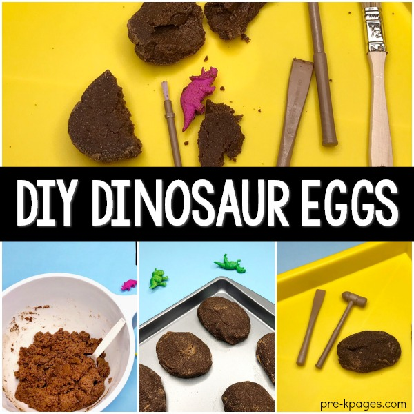 How to Make Eggs for a Dinosaur Theme in Preschool