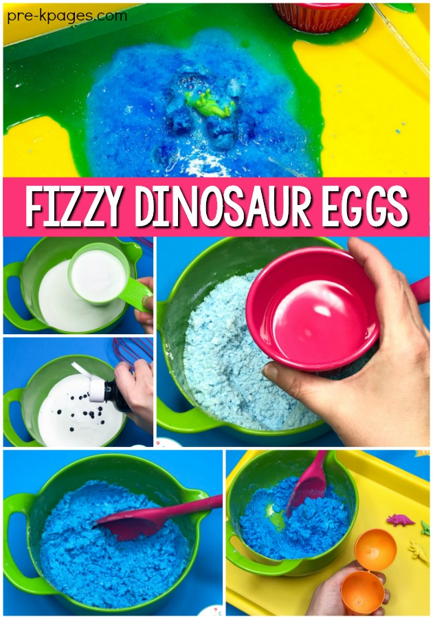 How to Make Fizzing Dinosaur Eggs
