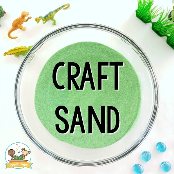 Kinetic Sand Recipe Craft Sand