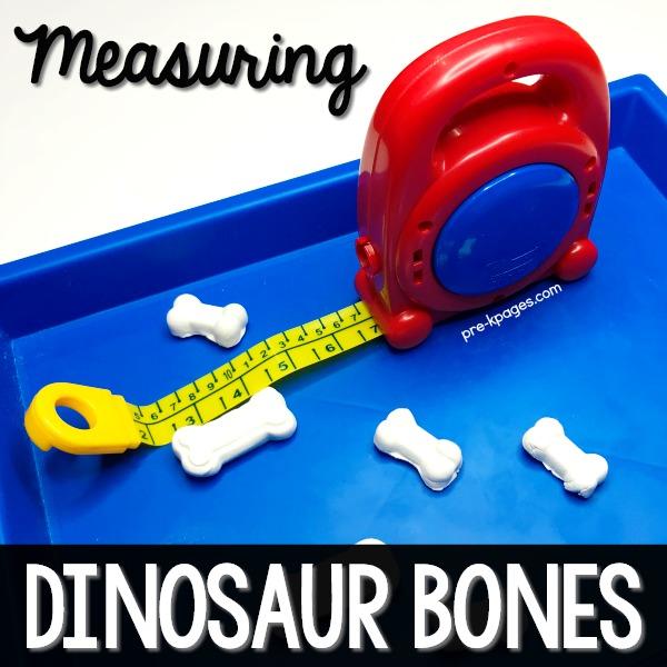 Measuring Tape Measurement in Preschool