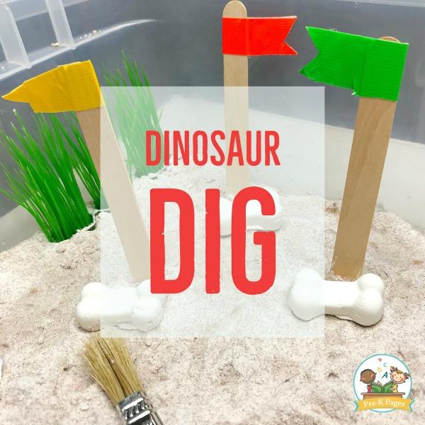 Model Magic Dinosaur Bones