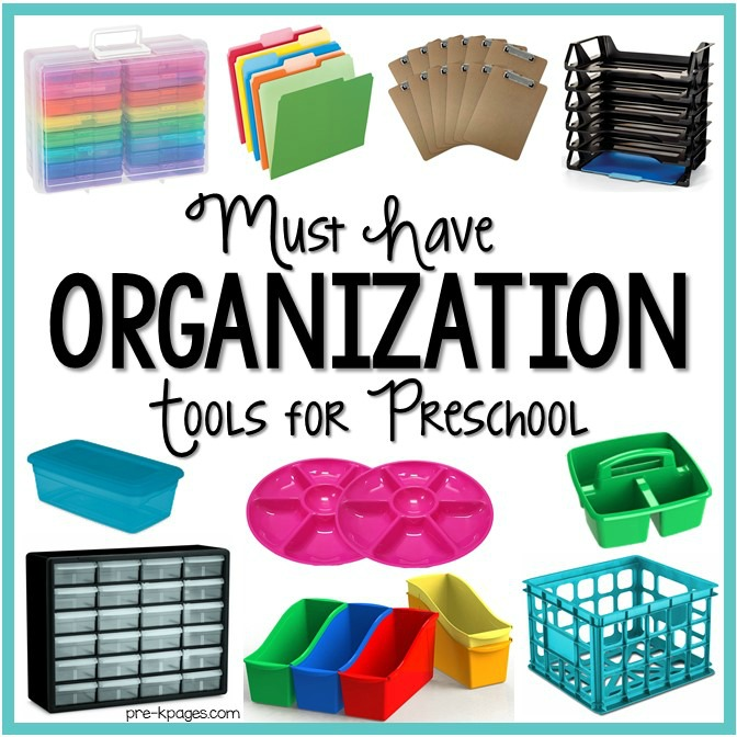 Organized Preschool Classroom