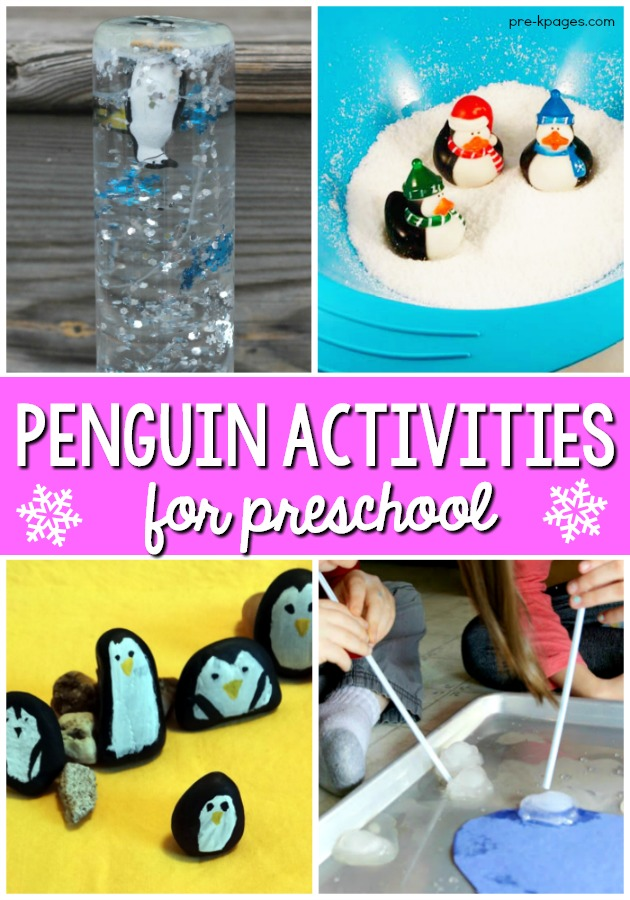penguin preschool theme penguin activities for preschoolers pre k pages 619