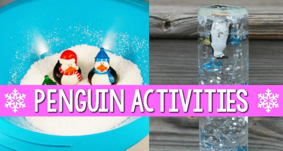 Penguin Activities for Preschoolers