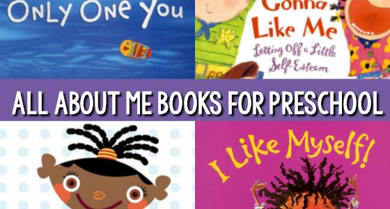 All About Me Books for Preschool and Kindergarten