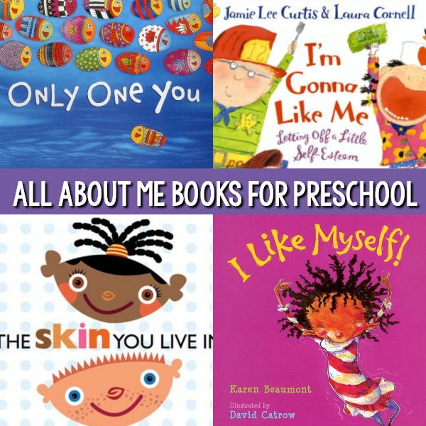 All About Me Theme Books for Kids