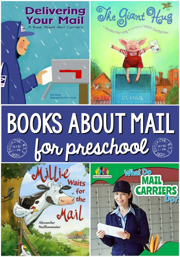 Books About Mail for Preschool