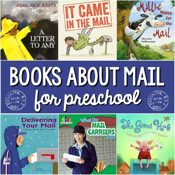 Post Office Books for Preschool