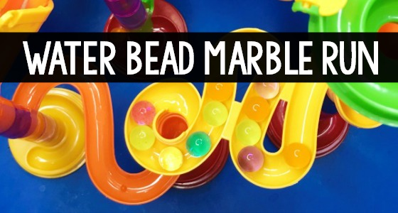 Water Bead Marble Run