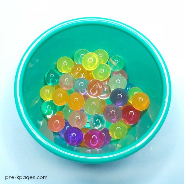 Water Beads in Bowl