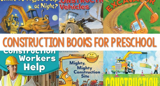 Books About Construction for Kids