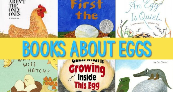 Books About Eggs for Kids