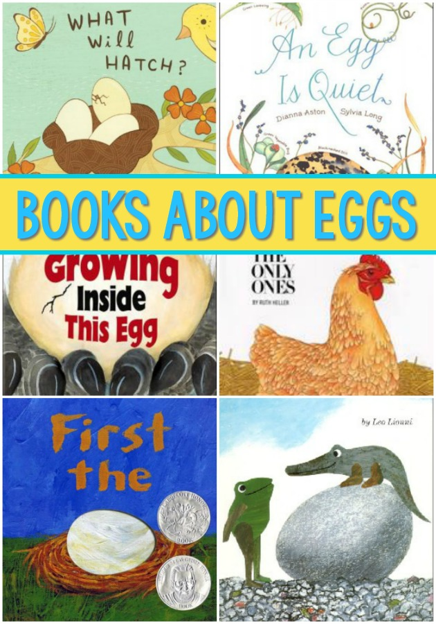 Books About Eggs for Preschool