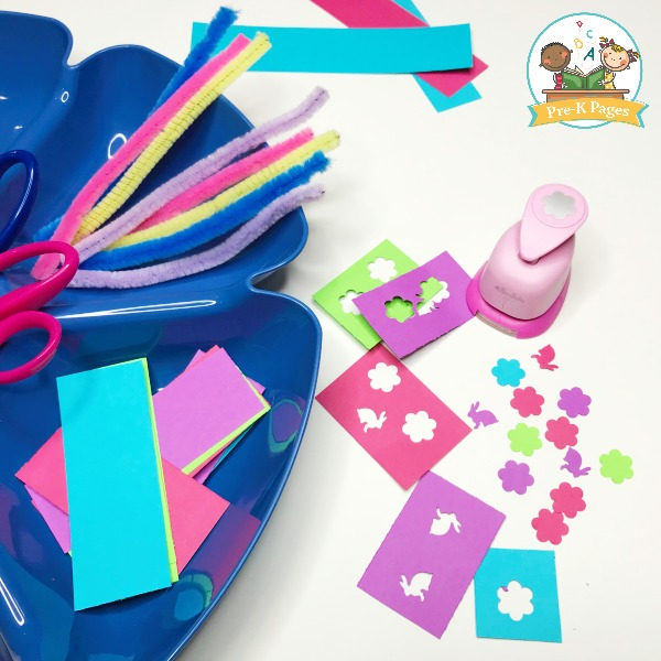 Easter Fine Motor Paper Punches
