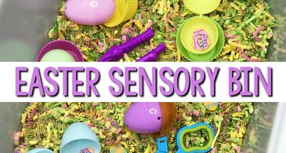 Easy Easter Sensory Bin