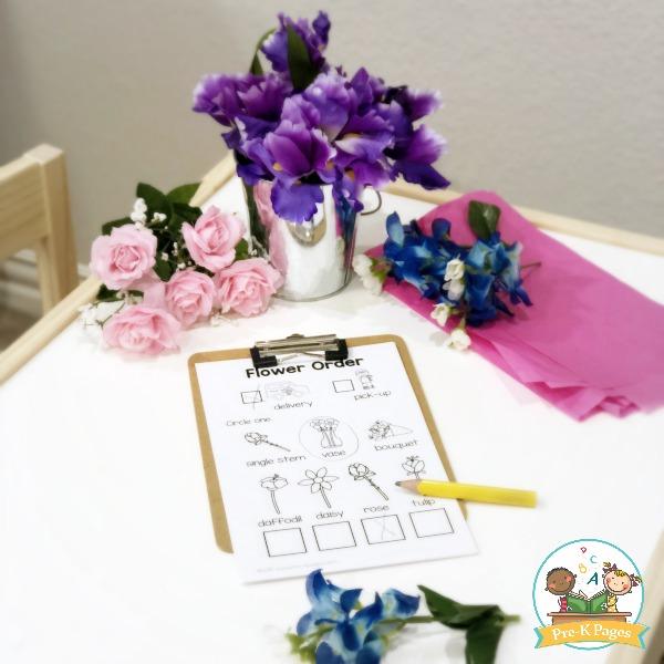 Flower Shop Printable Order Form