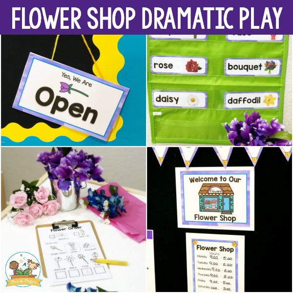 How to Set Up a Dramatic Play Flower Shop