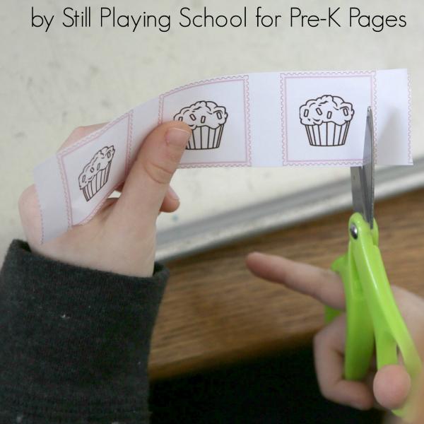 preschool cutting scissors play