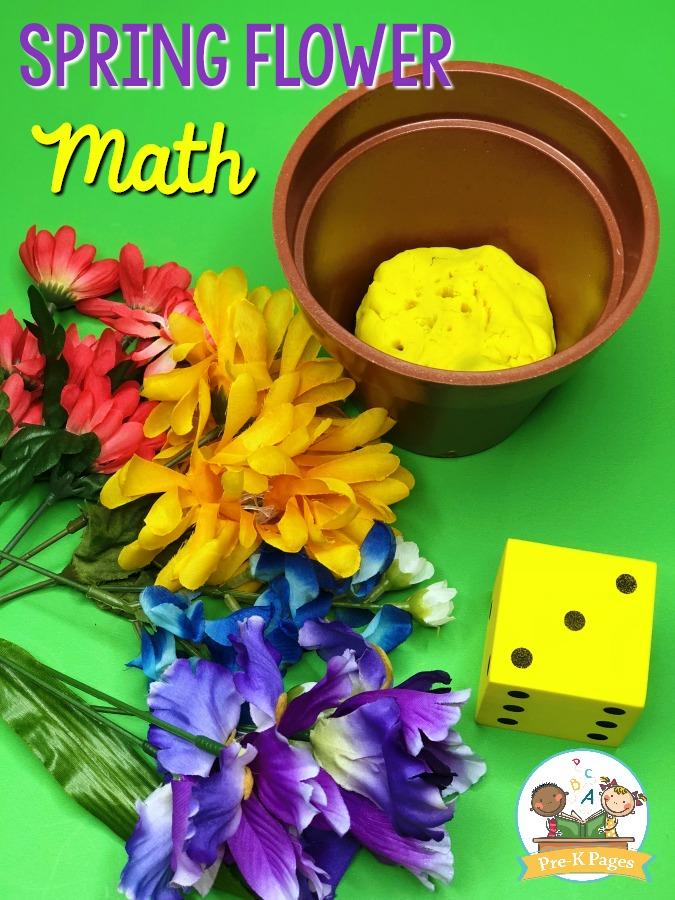 spring flower math game