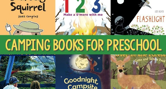 Camping Theme Books for Preschoolers