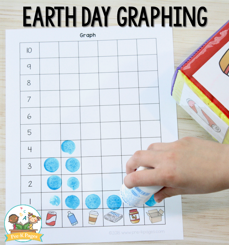 Earth Day Math Activities for Preschool - Pre-K Pages