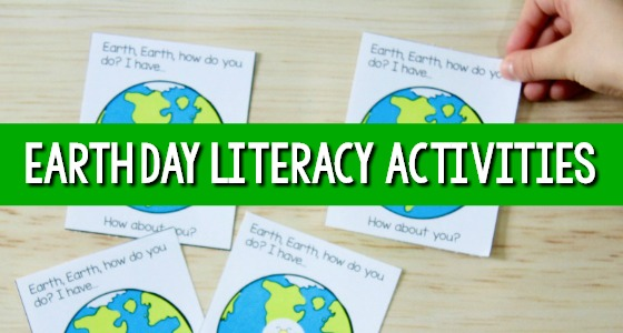 Earth Day Literacy Activities for Preschool