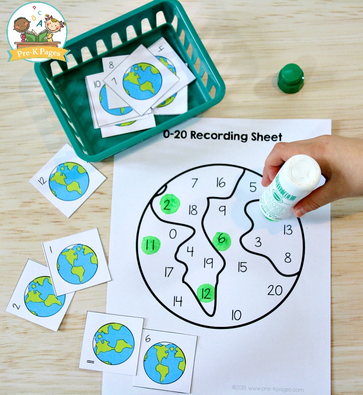 Earth Day Math Activities For Preschool