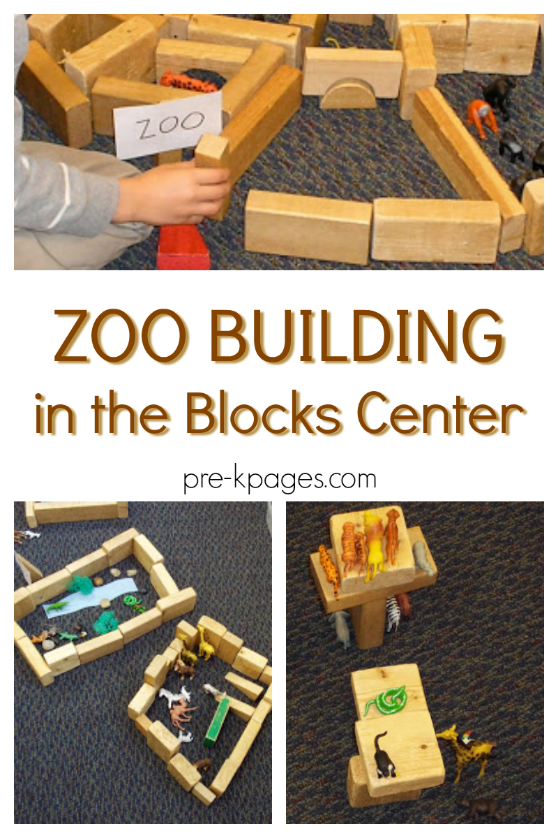 Build a Zoo in the Blocks Center - Pre-K Pages