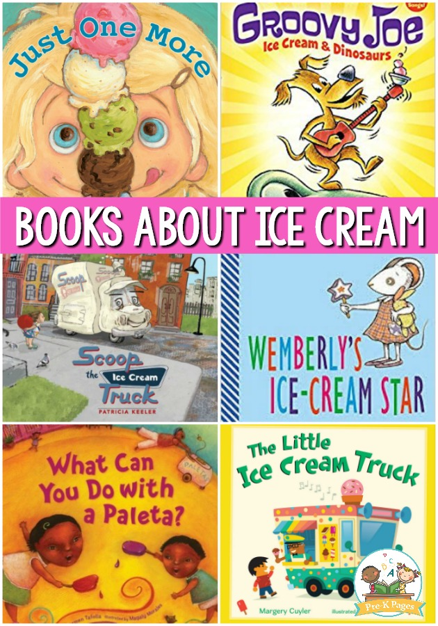 Books About Ice Cream for Preschool