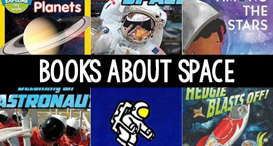 Books About Space for Preschoolers
