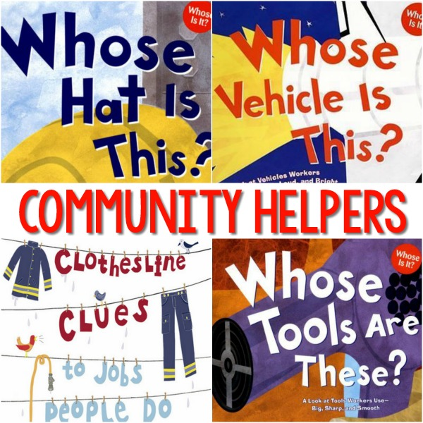 Community Helpers Books for Preschool