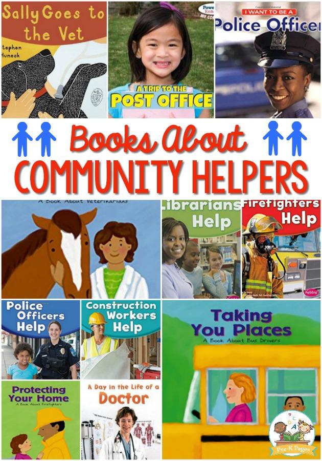 Community Helpers Books for Preschoolers