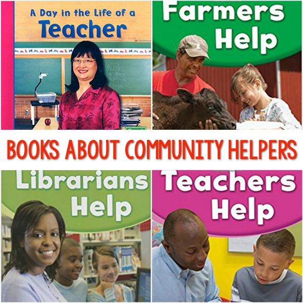 More Community Helpers Books for Preschool