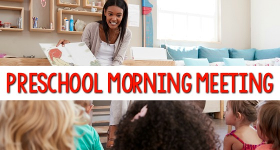 Morning Meeting Ideas for Preschoolers