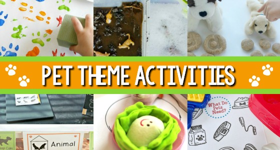 Pet Theme Activity Ideas for Preschool