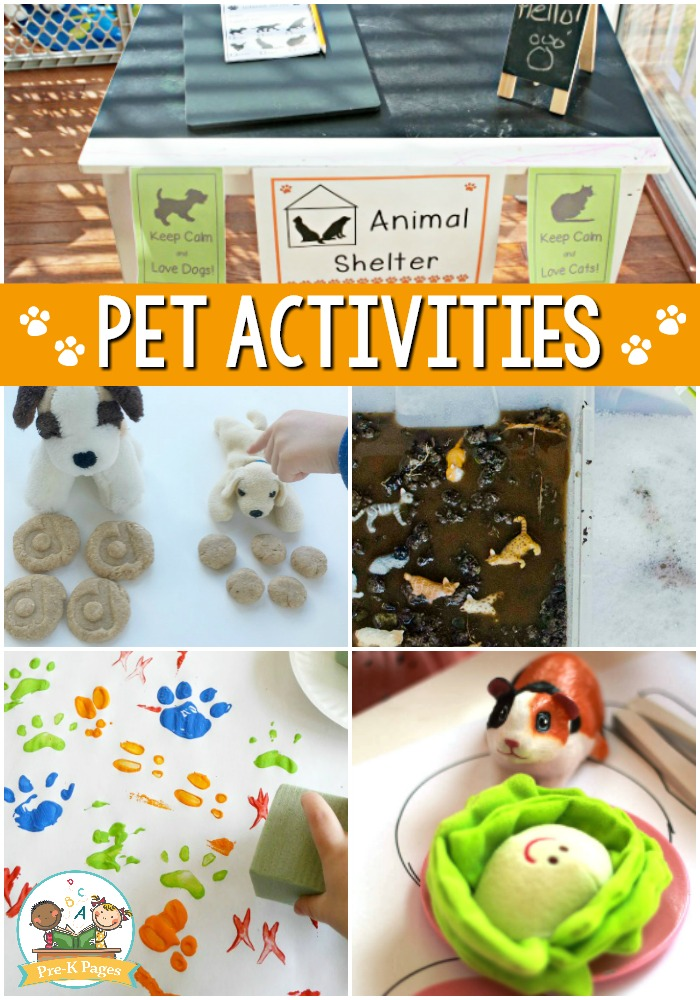 Pet Themed Activities for Preschool