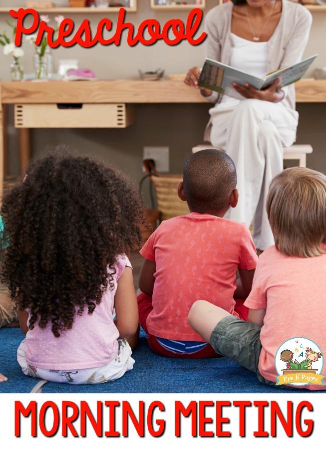 Preschool Morning Meeting Tips