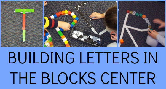 Building Letters in the Block Center