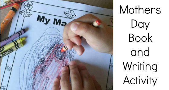 Mothers Day Book and Writing Activity