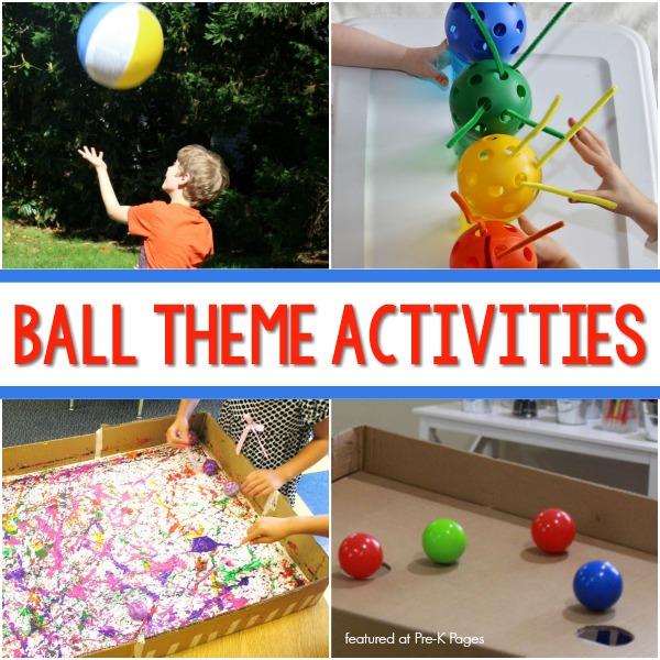 Ball Theme Activities for Preschool