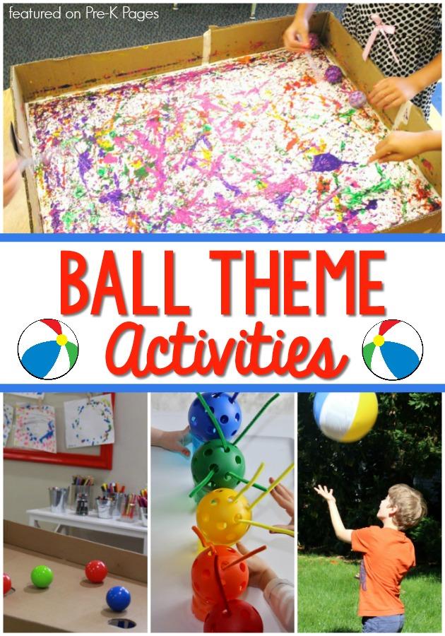 Ball Theme Activities for TSG