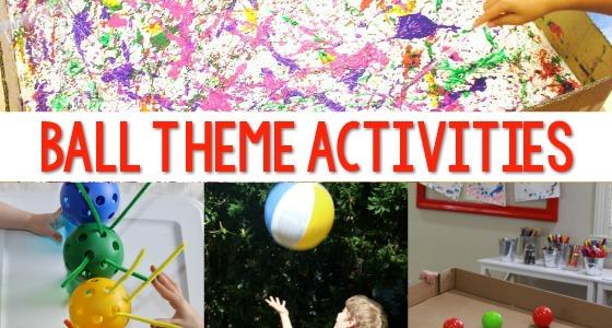 Activities with Balls for Preschoolers