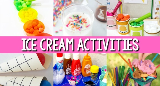 Ice Cream Theme Activities for Preschool