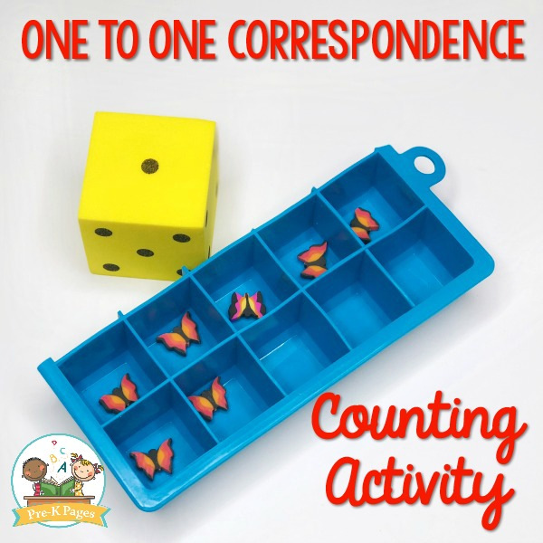 One to One Correspondence Counting Activity