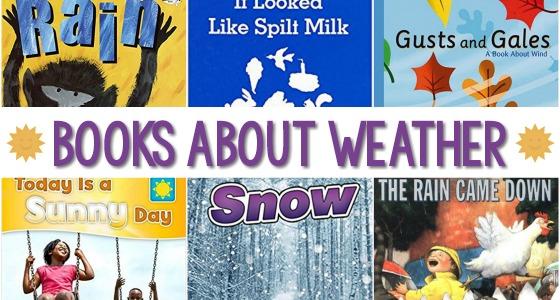 Weather Books for Preschoolers