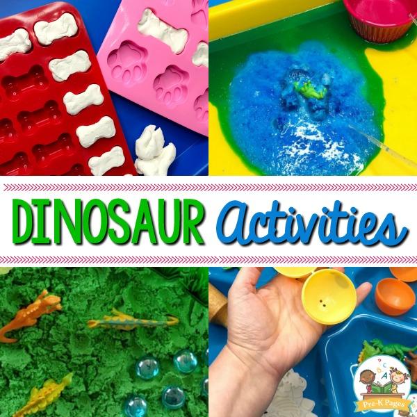 Dinosaur Activities for Preschoolers