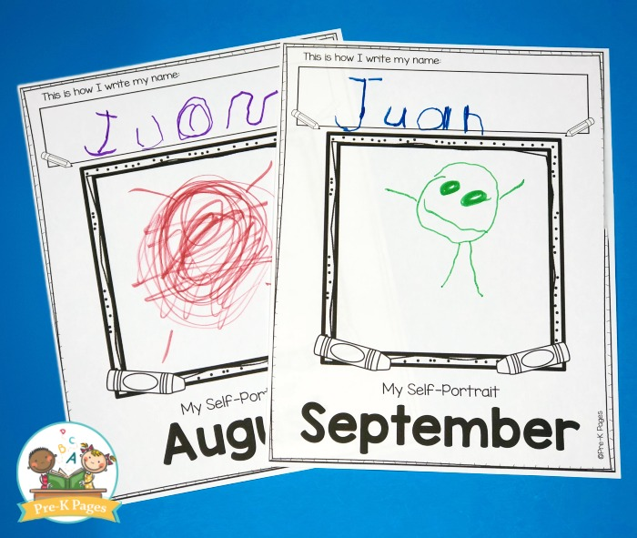 Self Portraits in Preschool