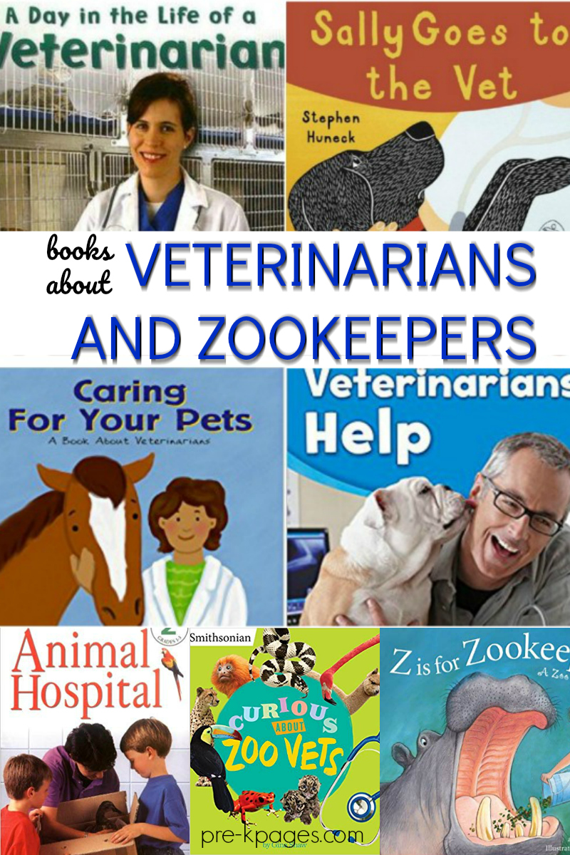 books veterinarians zookeepers preschool